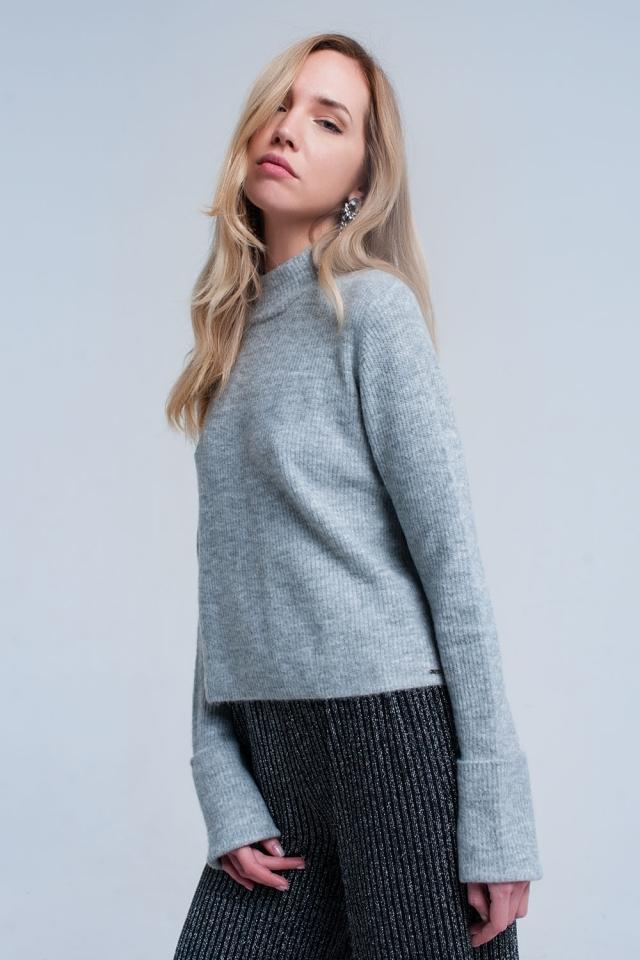 Jersey corto gris
