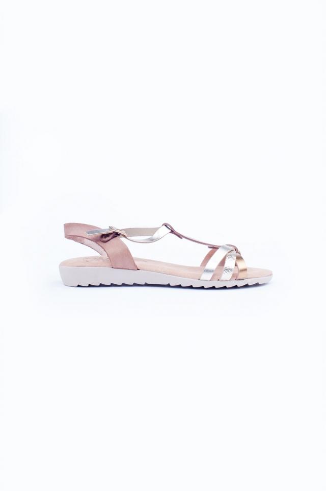 Chunky flat sandals