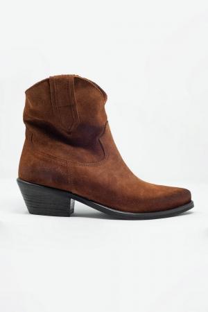 Botas estilo oeste marron