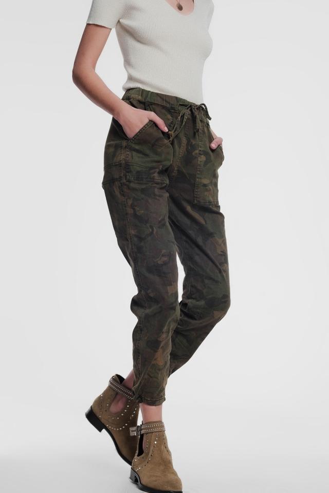 Pantalones militares de camuflaje
