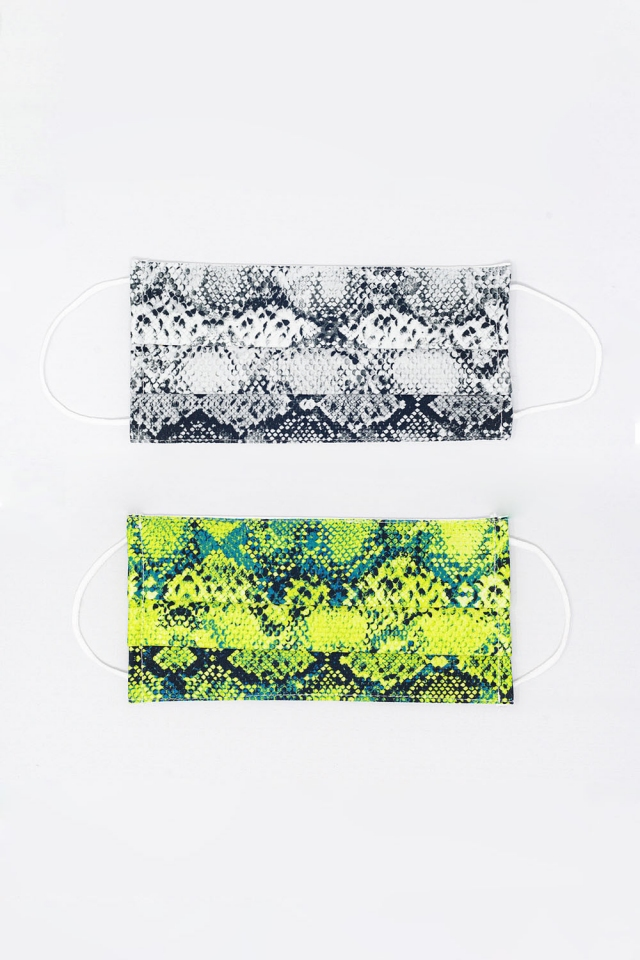 Paquete 2 unidades Mascarilla Piton Mix